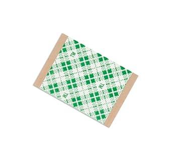 TapeCase 4016 Cinta de espuma de doble revestimiento de poliuretano natural, 200 V, fuerza