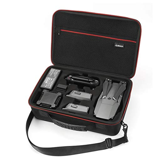 RLSOCO Carrying Case Compatible with DJI Mavic Pro&Platinum Drone, Battery  3, Propellers, Controller and Other Accessories-(NOT Fit Mavic 2 Pro&Zoom)