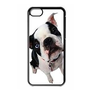 Bulldog Dog High Qulity Customized Cell Phone Case for iPhone 5C, Bulldog Dog iPhone 5C Cover Case