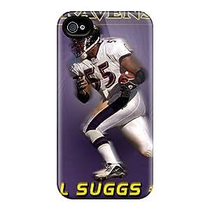 Durable Hard Phone Cases For Iphone 6plus (cqk7847Iosy) Unique Design Lifelike Baltimore Ravens Skin