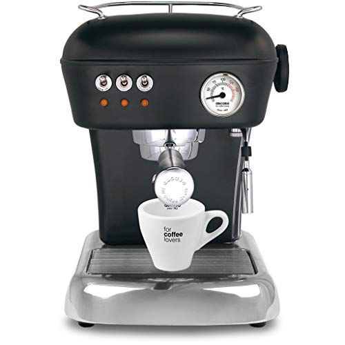 Ascaso Dream Up V3 Dark Black Semi-Automatic Espresso Machine - w/Set of Ascaso Cups