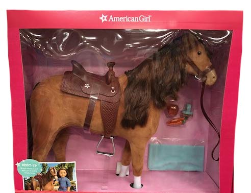 American Girl Horse & Saddle Set + Accessories (for 18