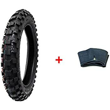 Compare Tire Sizes >> Amazon Com Combo Dirt Bike Tire Size 90 100 14 Inner Tube Size