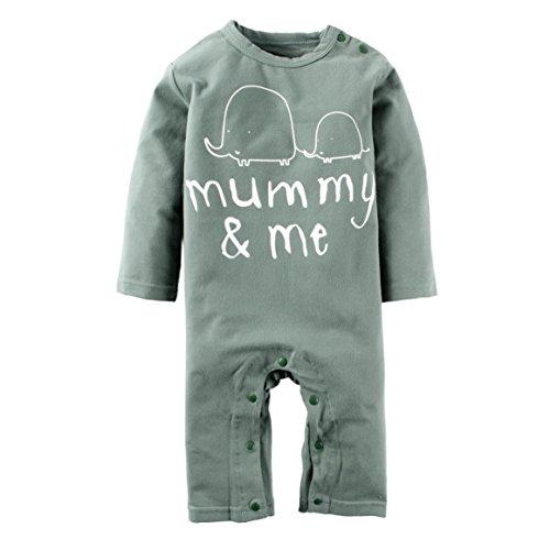 ff1029be7 BIG ELEPHANT Baby Boys 1 Piece Cute Graphic Print Long Sleeve Romper ...
