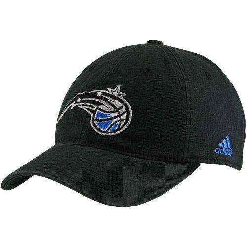 NBA adidas Orlando Magic Black Basic Logo Flex Slouch Hat - (Small/Medium) ()