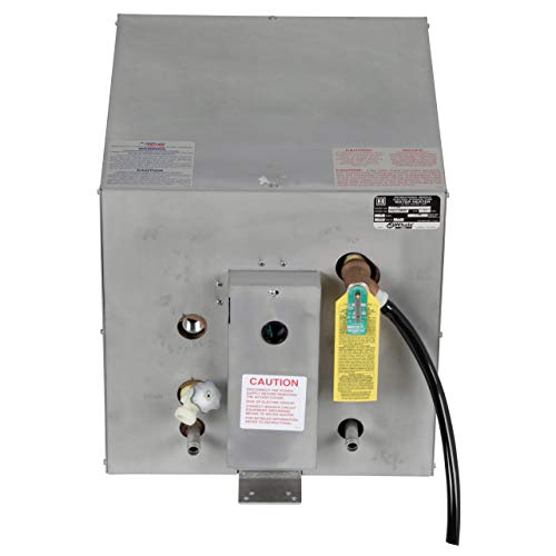 Whale F1100 Water Heater, 11-Gallon Capacity, 120V, Front Heat Exchanger, 16 Inches W x 22 Inches D x 16 Inches H