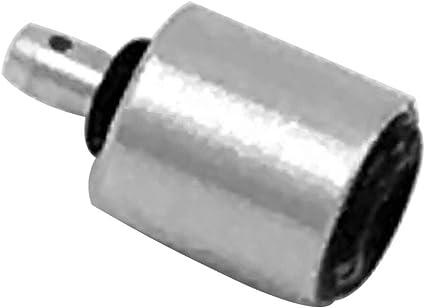 pnxq88 Válvula de llenado de Gas Adaptador Duradero Boquilla Recipiente Reutilizable Tornillo Estufa Conector Tipo de Botella Cartucho Camping ...