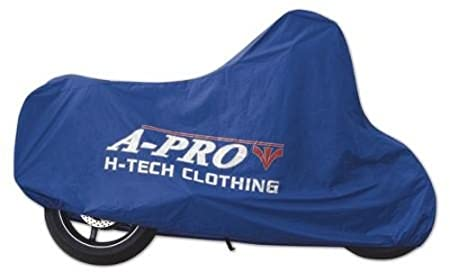 A-pro Waterproof Rain Cover Protection Motorcycle Motorbike Scooter Bike Blue M 5180000047580