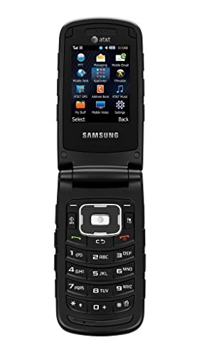 Samsung A847 Rugby 2 (Black) Unlocked (Best Basic Mobile Phone)