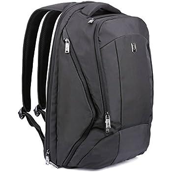 Amazon Com 17 3 Inch Laptop Backpack Evecase Large Unisex Multipurpose Backpack Business