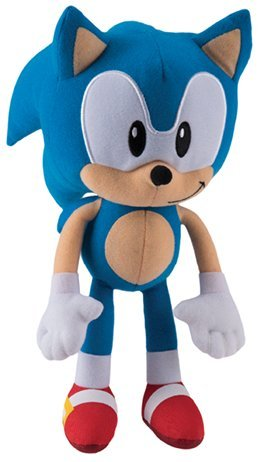 "Super Sonic the Hedgehog Classic 11.5"" Plush Toy"