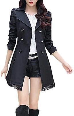 OnIn Women Black and White Striped Long Cardigan Loose Jacket