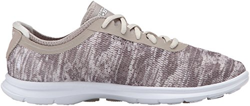 Skechers Performance Women's Go Step Lace-Up Walking Shoe Taupe cheap reliable best sale 100% authentic sale low shipping fee 1nzzaN