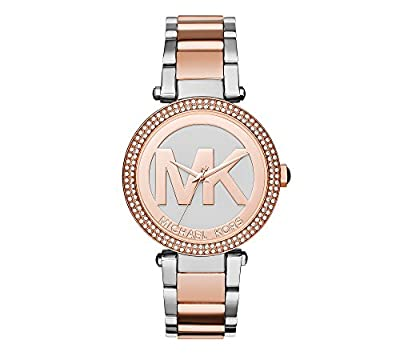 Michael Kors Women's Two-Tone Parker Watch by Michael Kors
