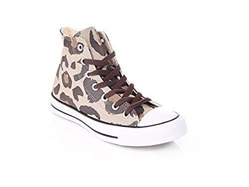 Converse - Zapatillas para mujer marrón Vintage Khaki Dark Chocol marrón