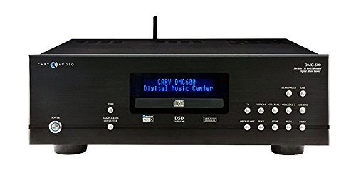 Cary Audio DMC-600 Digital Media Streamer and CD Player - Center Cary