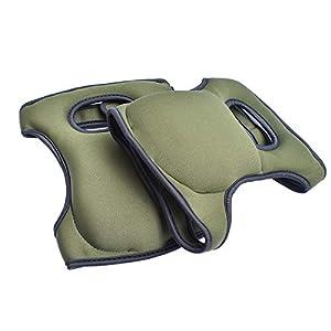ChirRay Thicken Neoprene Knee Pads Comfort Knee Protection Caps for Scrubbing Floors Gardening Yoga Construction Outdoor…