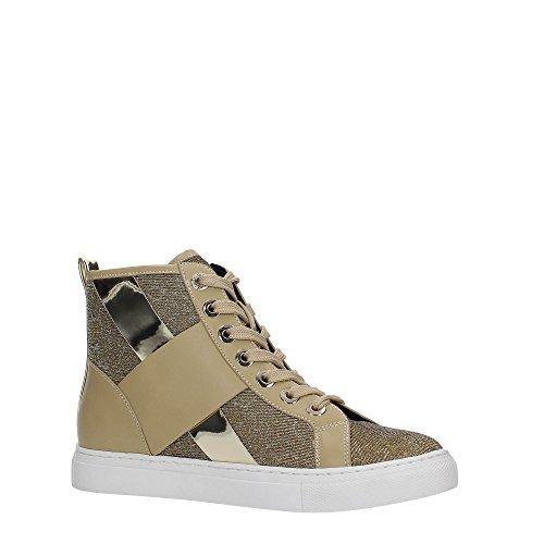 Armani Jeans - Zapatillas para mujer beige beige Gold