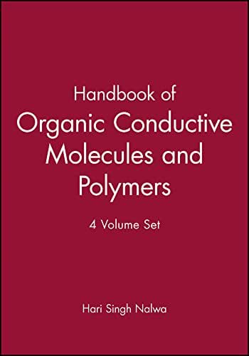 Handbook of Organic Conductive Molecules and Polymers, Set (Handbook of Organic Conductive Molecules and Polymers (Volumes 1 - 4))