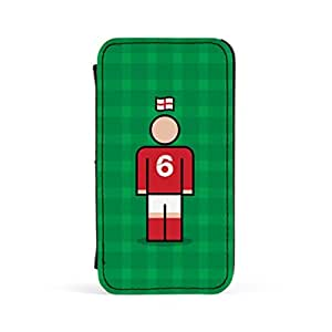 England 6 Premium Faux PU Leather Case Flip Case for Apple? iPhone 4 / 4s by Blunt Football International + FREE Crystal Clear Screen Protector