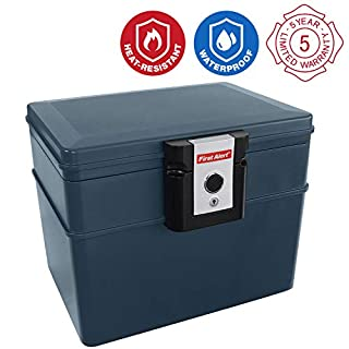 First Alert 2037F Water and Fire Protector File Chest, 0.62 Cubic Feet (B000GB3CBC) | Amazon price tracker / tracking, Amazon price history charts, Amazon price watches, Amazon price drop alerts
