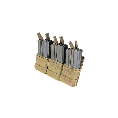 Triple Stacker Magazine Pouch (Hold 6 Mags) Color: Coyote Tan