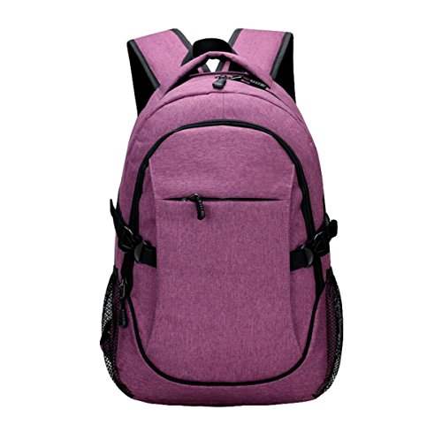 Bolsa Secundaria De Carga Mochila Pack Purple De Escuela De Hombro Bolsa Viaje De Para Pack Ordenador Hombre Casual Bolsa Para ZXOwUqSnX