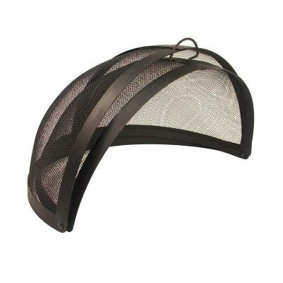 40 in. Fire Pit Folding Spark Screen