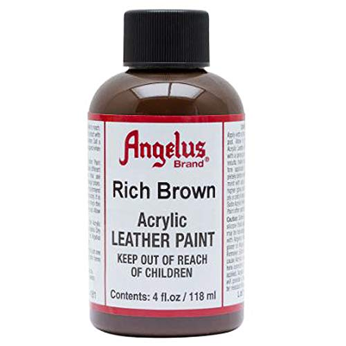 Angelus Leather Paint 4 Oz Rich Brown