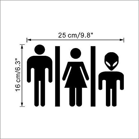 Amazon.com: Divertido cartel de – 1 pieza Para Baño Funny ...