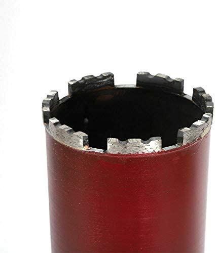 63-112 mm Diamond Core Drill Bit Wet and Dry for Core Drill 450 mm Length Reinforced Concrete (76 mm)