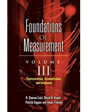 Foundations of Measurement Volume III: Representation, Axiomatization, and Invariance