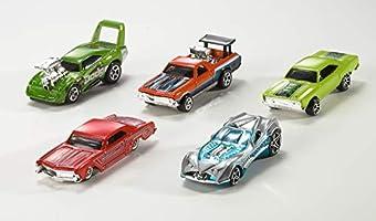 Hot Wheels Pack de 10 vehículos, coches de juguete (modelos ...