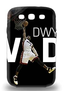Top Quality 3D PC Case Cover For Galaxy S3 3D PC Case With Nice NBA Miami Heat Dwyane Wade #3 Appearance ( Custom Picture iPhone 6, iPhone 6 PLUS, iPhone 5, iPhone 5S, iPhone 5C, iPhone 4, iPhone 4S,Galaxy S6,Galaxy S5,Galaxy S4,Galaxy S3,Note 3,iPad Mini-Mini 2,iPad Air )
