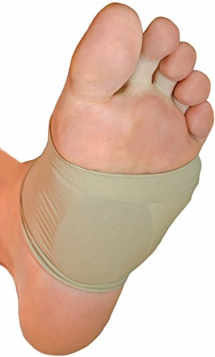 NatraCure Arch Support Sleeves w/Gel Cushions - (1 Pair) - 1290-M-00 CAT