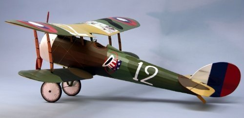 DUMAS 1819 Nieuport 28 WWI fighter balsa kit 35 ()