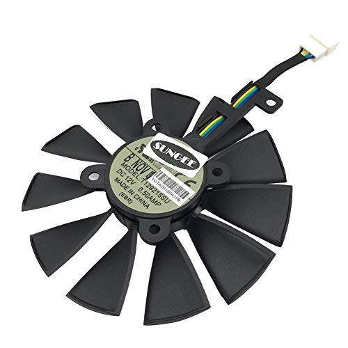 Used, 85MM T129215SU 6-Pin DC 12V 0.50A Cooling Fan For ASUS for sale  Delivered anywhere in Canada