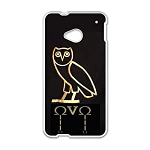 Drake Ovo Owl HTC One M7 Cell Phone Case White 8You293812