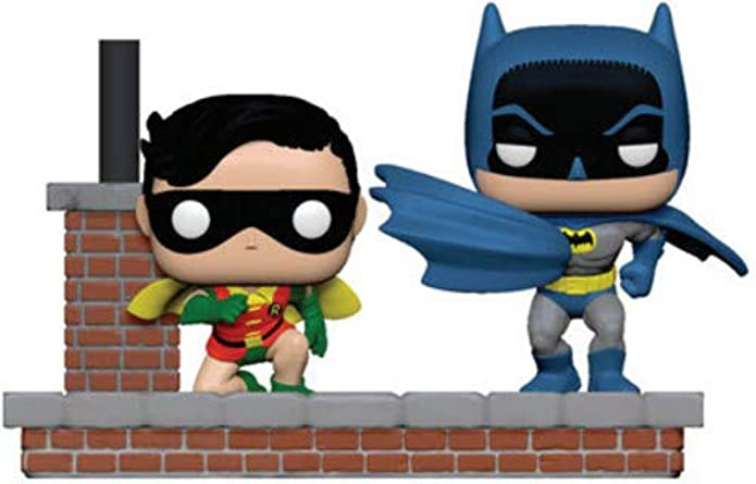 Funko POP! Comic Moment DC Comics: Batman 80th - Batman and Robin (New Look Batman 1964)