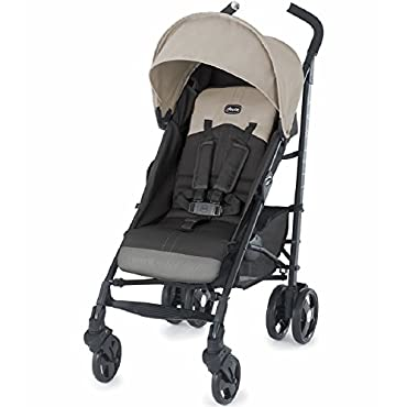 Chicco Liteway Compact Stroller with 3D Fold, Almond (CHI-0707974561)
