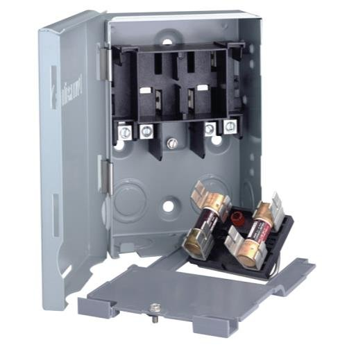 Ideal-Air 728162 Electrical Disconnect Box 30 Amp Fuseable (Disconnect Box)