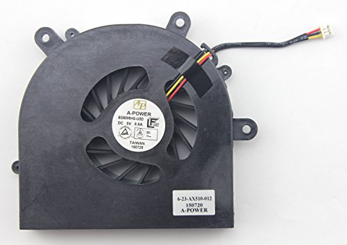 CHNASAWE Laptop CPU Fan for Clevo P150EM P150HM P150SM P150SM-A P151EM1 P151HM P151HM1 P151SM P151SM-A by CHNASAWE (Image #2)'