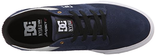 DC - Männer Nyjah Vulc Vulcanized Schuh, EUR: 45, Dark Navy