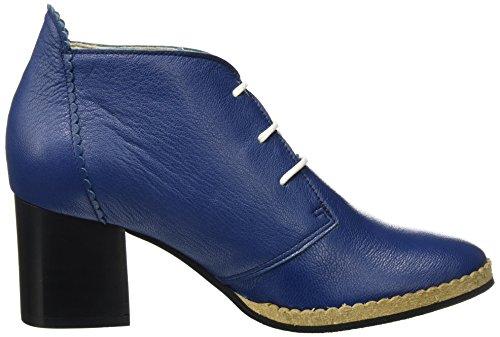 London Donna Blu Con 001 blue Scarpe Tacco Fly Chao006fly RFndTqdf