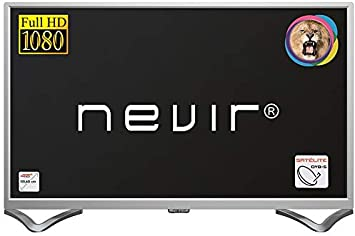 Nevir TV Led 40 Pulgadas NVR-7706-40FHD2S-P, Full HD, Plata: Amazon.es: Electrónica