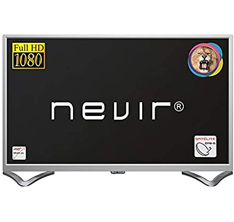 Nevir TV Led 40 Pulgadas NVR-7706-40FHD2S-P, Full HD, Plata: Amazon.es: Electrónica