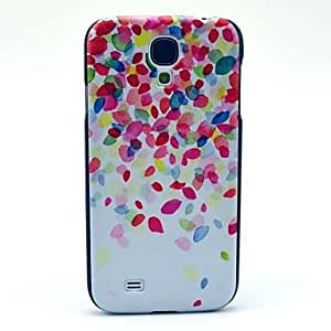 SOL Pink Glass Fragment Pattern Plastic Protective Back Cover for Samsung Galaxy S4 I9500