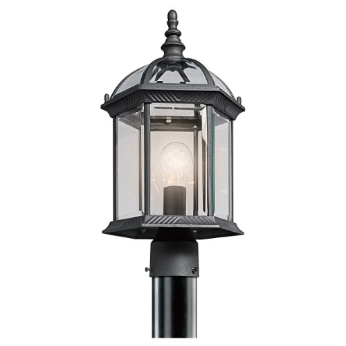 Kichler 49187BK One Light Outdoor Post (1 Light Billiard Lights)