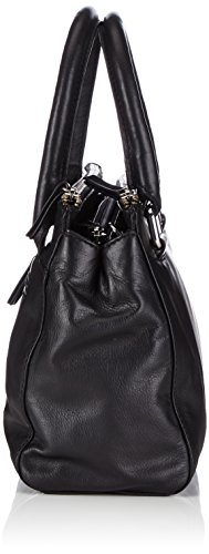 Gerry Weber Piacenza Handbag, Borsa da donna Nero (Schwarz (Black 900))