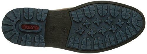 Braun botas 26 hombre Marron Aqua F1530 cuero Rieker 26 Sherry Marrón de EZ0qx6an7w